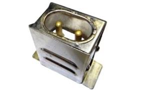Разъем термостойкий вилка роснагрев-РТ06