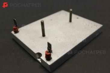 Плоские алюминиевые нагреватели
